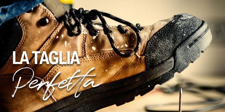 Vestibilità scarpe antinfortunistiche : Guida alla calzata perfetta da Cenerentola.